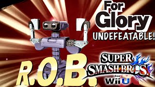 Stop Rolling | Undefeatable! - R.O.B. ~ Ep. 3 - Super Smash Bros for Wii U (For Glory) 60 FPS HD