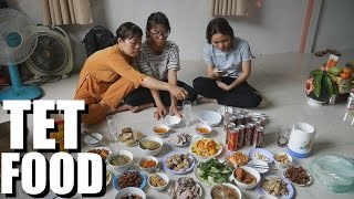 Tet 2017: VIET NEW YEARS: So Much Food & Family!   VLOG#4 thumbnail