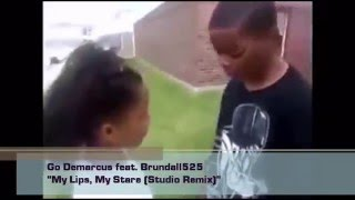 Go demarcus and his viral single; my lips, stare with studio background music by brundall525