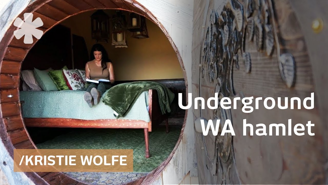 Best Kitchen Gallery: Kristie Wolfe Builds Underground Home Sets Rural Wa Hamlet Youtube of Self Build Earth Sheltered Homes on rachelxblog.com