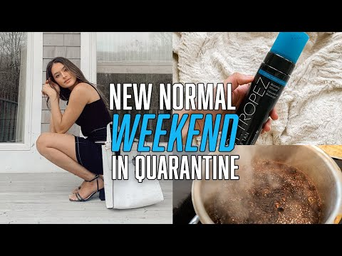 GETTING READY TO HAVE A 'NORMAL' WEEKEND: at-home wax, self tan routine, nasty gal haul