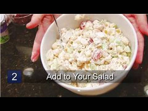 Recipes of mayonnaise pasta