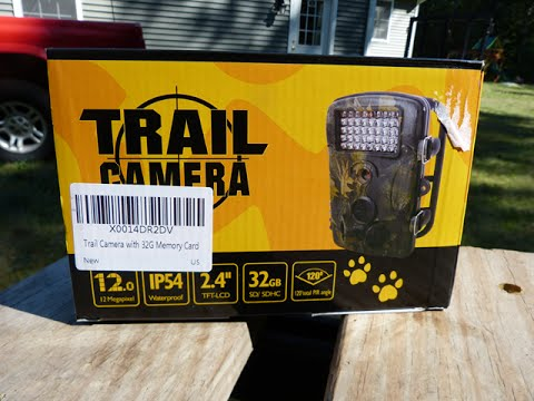 Senwow Crenova Trail Camera Setup and Review