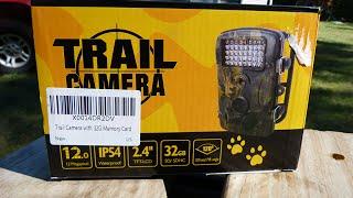 Senwow Crenova Trail Camera Setup and Review