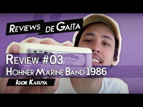 Review #03 - Hohner Marine Band 1896 | Igor Kasuya