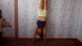 Немного гимнастических упражнений на природе