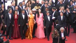WILL SMITH & FAN BING BING at Cannes Film Festival 2017.