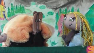 """Кукольный театр online """"ЧУБРИКИ"""". Сказка """"Маша и медведь""""."""