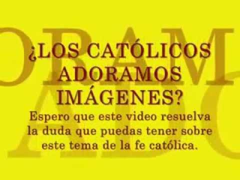 Los catolicos no adoramos imagenes youtube for Espejo que no invierte la imagen