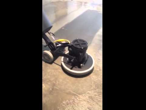 hawk merlin polishing concrete - youtube