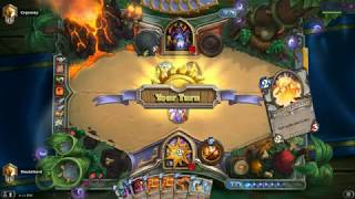 [Hearthstone] One turn kill a warlock with his own Voidlord?