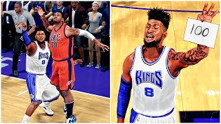50 POINTS IN 15 MINS TRIPLE OVERTIME | BREAKING WILT 100 POINT RECORD | NBA 2k16 MyCareer