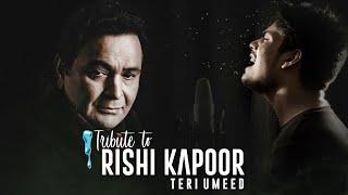 Teri Umeed Tera Intezar Remake | R JOY | Deewana | Rishi Kapoor | Kumar Sanu | Sadhna Sargam | Divya