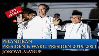 LIVE Pelantikan Jokowi-Amin Sebagai Presiden dan Wakil Presiden 2019-2024