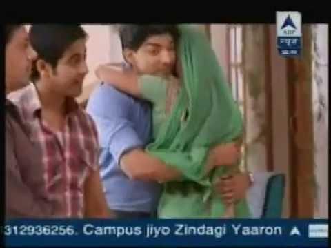 SBS - Yash & Aarthi Hug (Punar Vivaah) - 9th April 2013