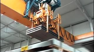 Кран мостовой без раскачивания груза для предприятия Arcelor(Кран мостовой г/п 9,2 тонны без раскачивания груза для предприятия Arcelor., 2013-11-01T15:53:52.000Z)