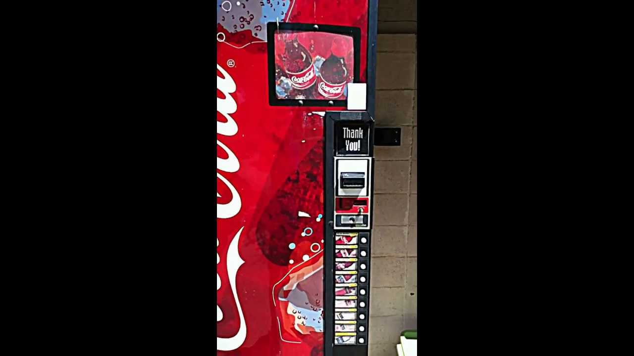soda machine hacking