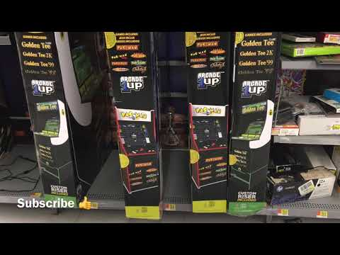 Arcade1Up Trashed In Walmart Arcade 1up from rarecoolitems