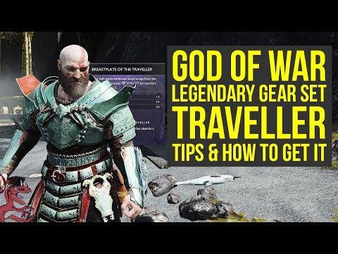 God of War Tips Traveller Legendary Gear - HOW TO GET IT (God of War 4 Tips - God of War Best Armor)