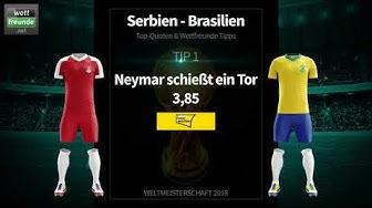 Tipps, Tricks & Teamcheck! WM 2018: Serbien - Brasilien