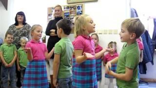 Aktivity Grinava - Vystúpenie Detí V Klube Dôchodcov 19.10.2011 Ii. časť