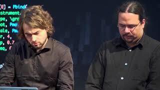 Live-Coding – programming masterly music  | Juan Romero & Patrick Borgeat | TEDxKIT