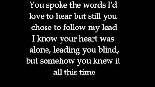 This is how I let you down - The Franklin Electric (lyrics)