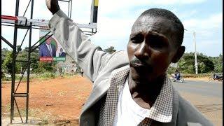 Governor Munya and MP Mbiuki campaign billboards vandalized