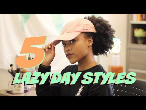 5 Lazy Day Natural Hairstyles for Long 4c Hair  (As I Am Long and Luxe)