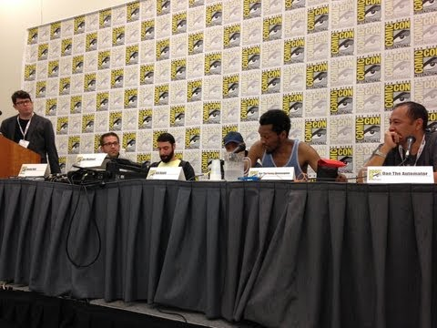 Hip-Hop & Comics: Cultures Combining (San Diego Comic Con, July 20, 2013)