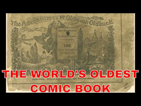 BEFORE SJW MARVEL COMICS : THE HISTORY OF COMIC BOOKS EXPLAINED  PART. 1 : THE  FIRST COMIC BOOKS