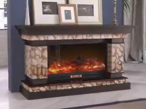 Видео обзор Электрический камин Dimplex Verona Corner - YouTube