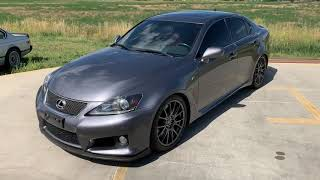 Lexus IS F 2012 Videos