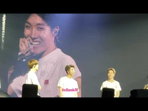 180922 [Ending Ment+ JHOPE dancing to keke do you love me] BTS 'LOVE YOURSELF WORLD TOUR' Hamilton