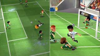 Mini Football match Italy Italy 463 vs 418 ROW with bicycle kick