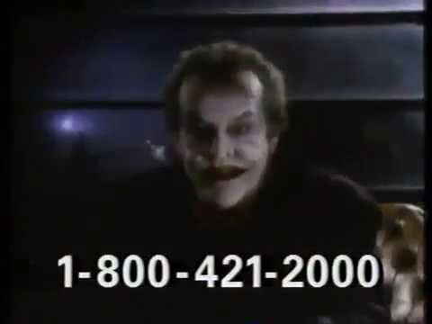 Batman VHS commercial