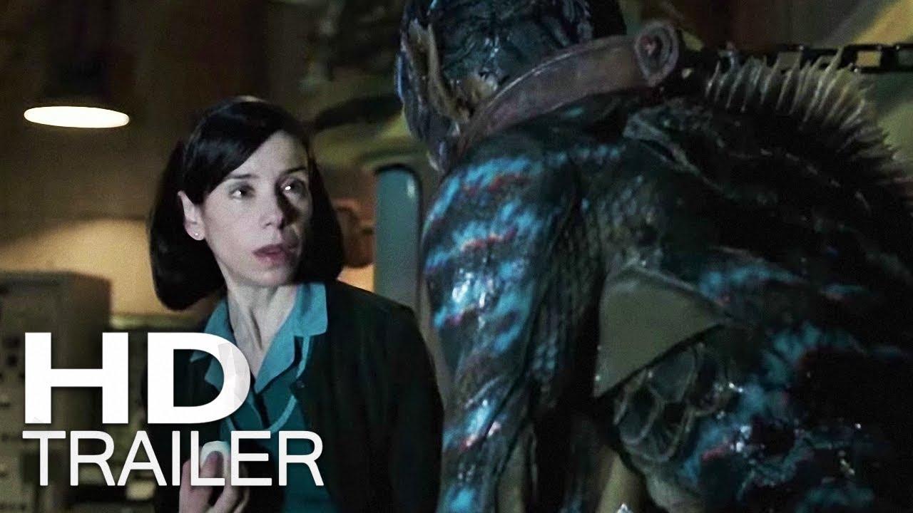 A FORMA DA ÁGUA   Trailer (2018) Legendado HD