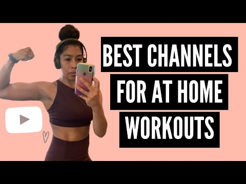 BEST YOUTUBE CHANNELS FOR AT HOME WORKOUTS | CHECKING IN! HOW I'M STAYING FIT & HEALTHY RT NOW