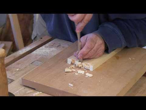 Quick and Easy Dovetails Cut With Hand-Tools