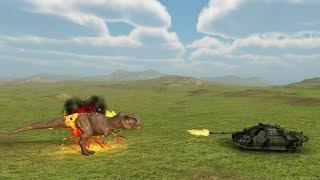 T-REX vs ALL UNITS - Beast Battle Simulator