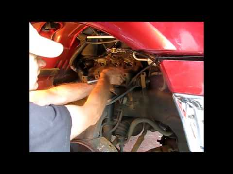 Removing The Starter From A 2000 5 4l Ford F150 Youtube