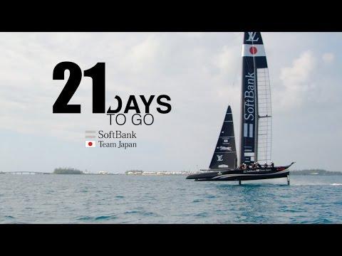SoftBank Team Japan: 21 Days to Go