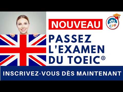 Passation Certificat TOEIC ® Anglais à Nice