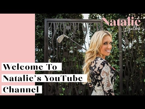 Welcome To The  Natalie Gulbis Channel!