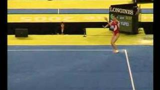 Zhang Yufei 2005 World Championships - Floor (7th qual)