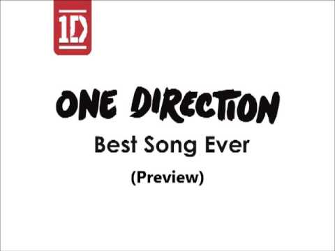 One Direction   Best Song Ever Preview)