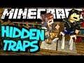Minecraft Mod Showcase : Torch Levers Mod (Hidden Traps)