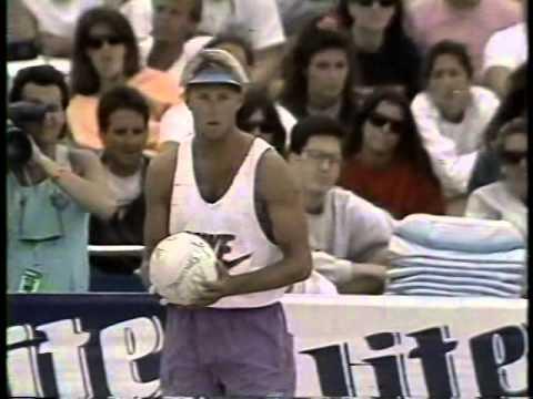 AVP Volleyball 1991 Santa Barbara Final