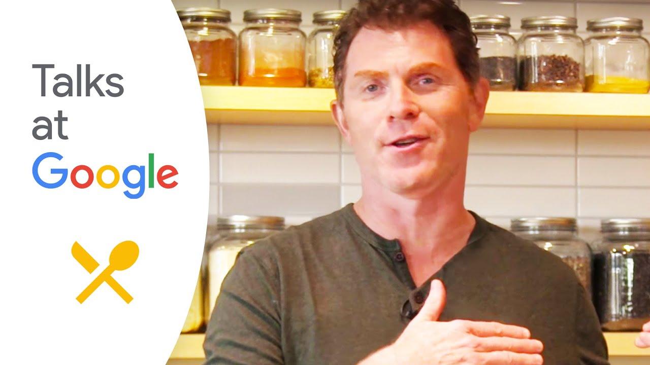 Bobby Flay Fit 200 Recipes For A Healthy Lifestyle Bobby Flay Talks At Google Youtube