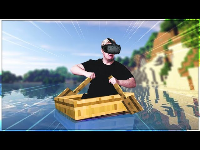 VR Minecraft But It Looks Like Real Life
